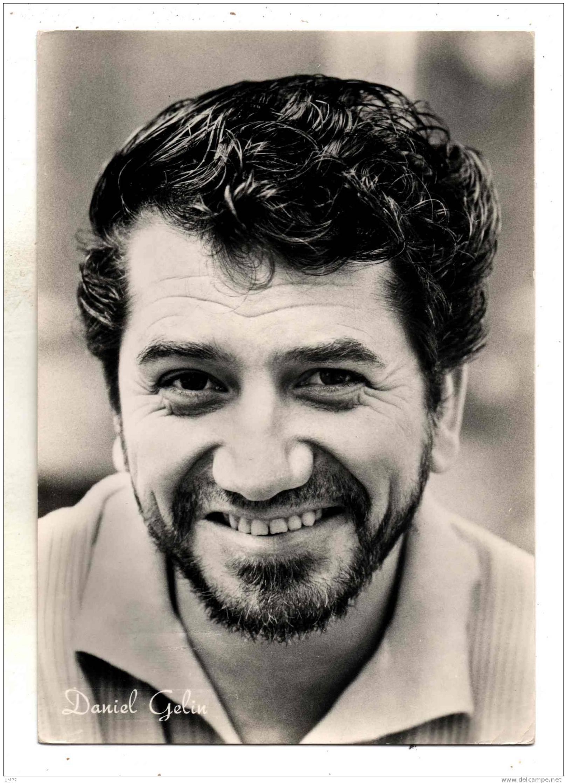 Daniel Gélin Portrait Photo Avec Collier De Barbe Acteur Theatre Cinema Réalisateur Scénariste - Entertainers