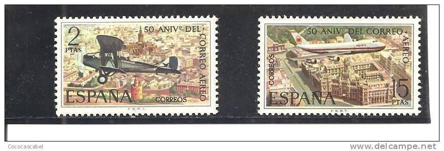 España/Spain-(MNH/** )  - Edifil  2059-60 - Yvert  1712-13. - 1931-Hoy: 2ª República - ... Juan Carlos I