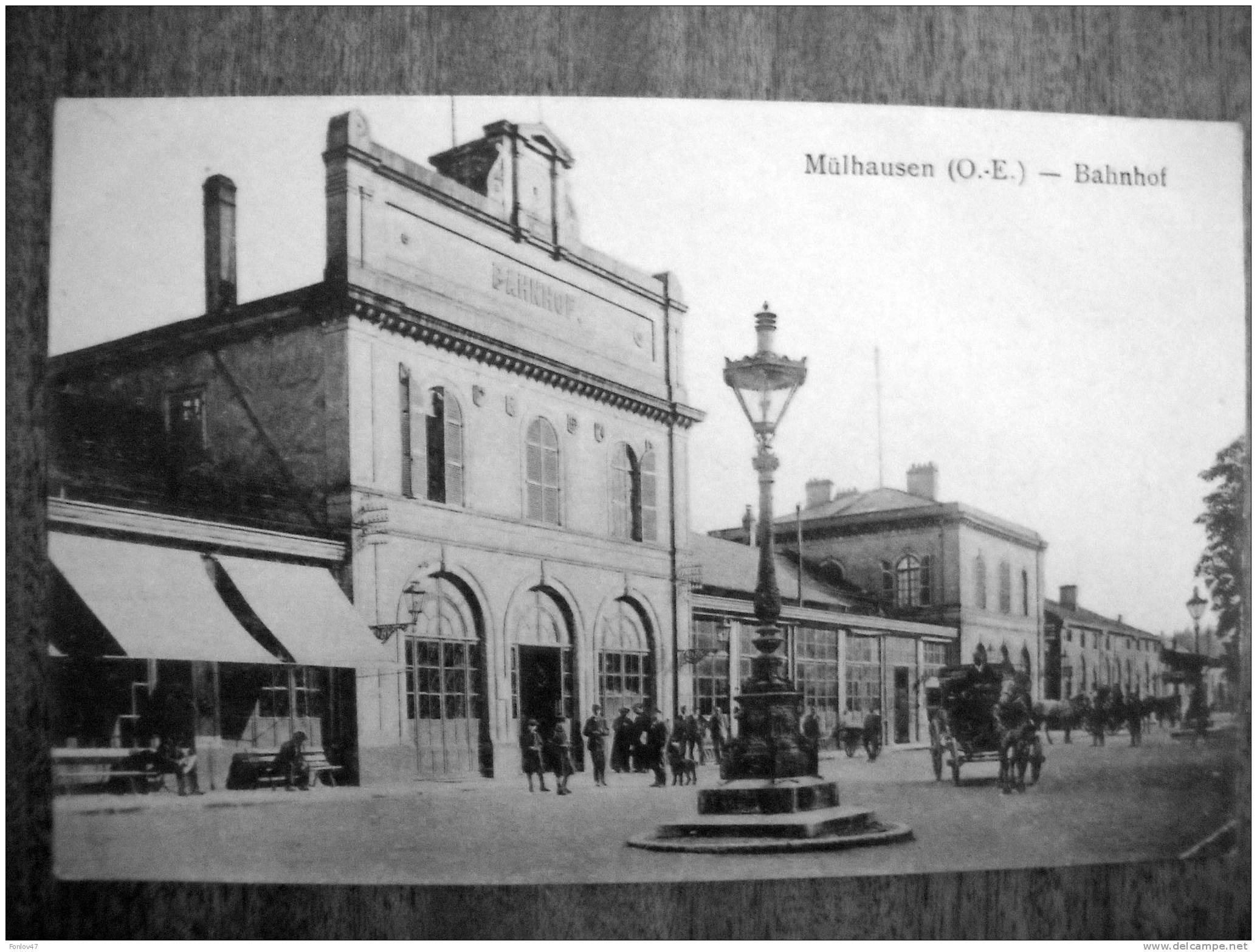 MULHOUSE  MULHAUSEN  BAHNHOF - Mulhouse