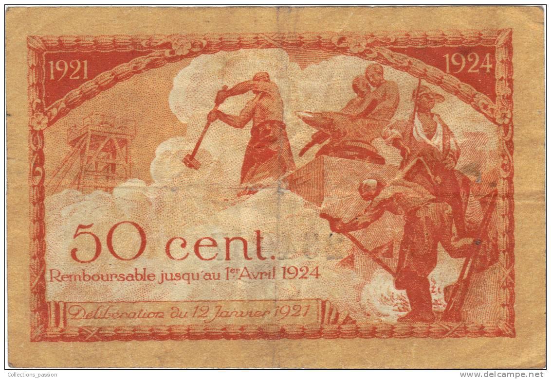Billet chambre de commerce 50 centimes cinquante for Chambre de commerce st etienne