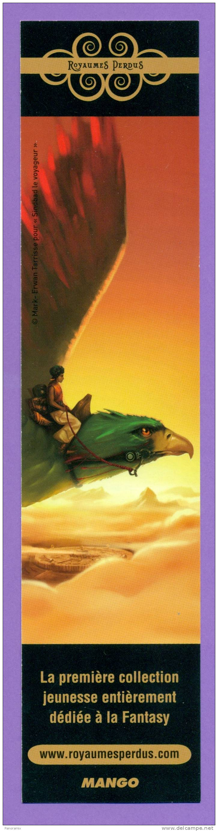 Mango   Autres  Mondes   «  Sindbad  Le  Voyageur  »   5 X 22 Cm - Marque-Pages