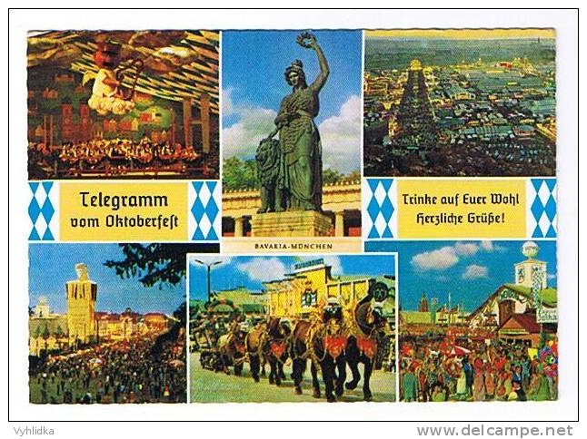 München Munich Telegramm Vom Oktoberfest - München