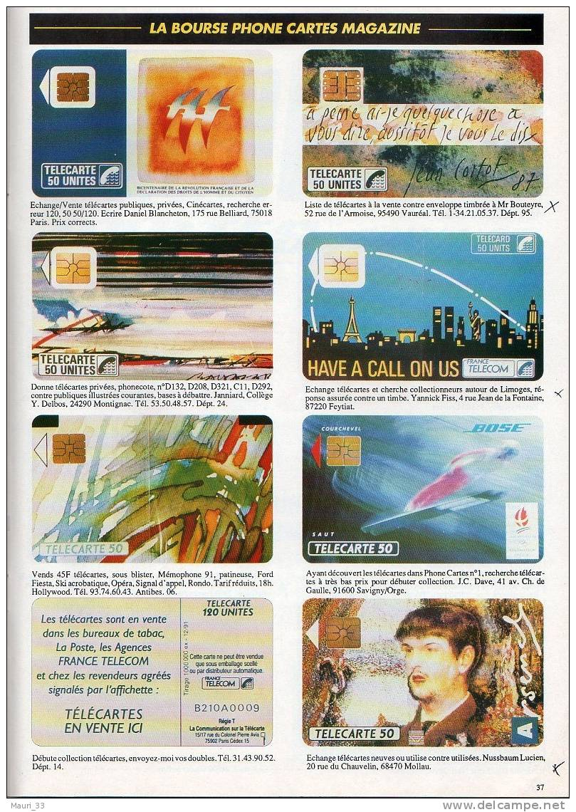 """CATALOGUE    """" Phone  Cartes """" Ed Stevens ABBEVILLE - TC Publ ,...Thèmes,Annonces,Variétés...T.B.E - Télécartes"""