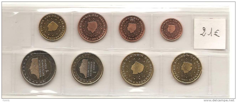 Euros Pays Bas 1999 - Pays-Bas