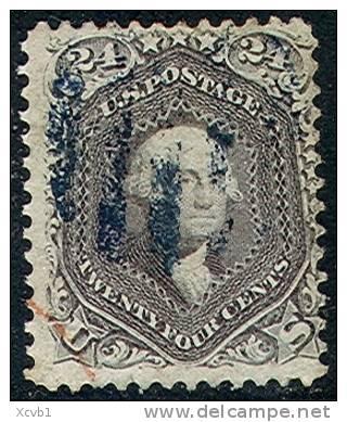 # United States   78c, Used, RARE, Nice   (us078-1, Blackish Violet  [BNMMM - Used Stamps