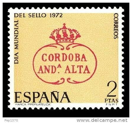 ESPAÑA 1972 - DIA DEL SELLO - EDIFIL Nº 2092 - Yvert 1746 - 1931-Aujourd'hui: II. République - ....Juan Carlos I