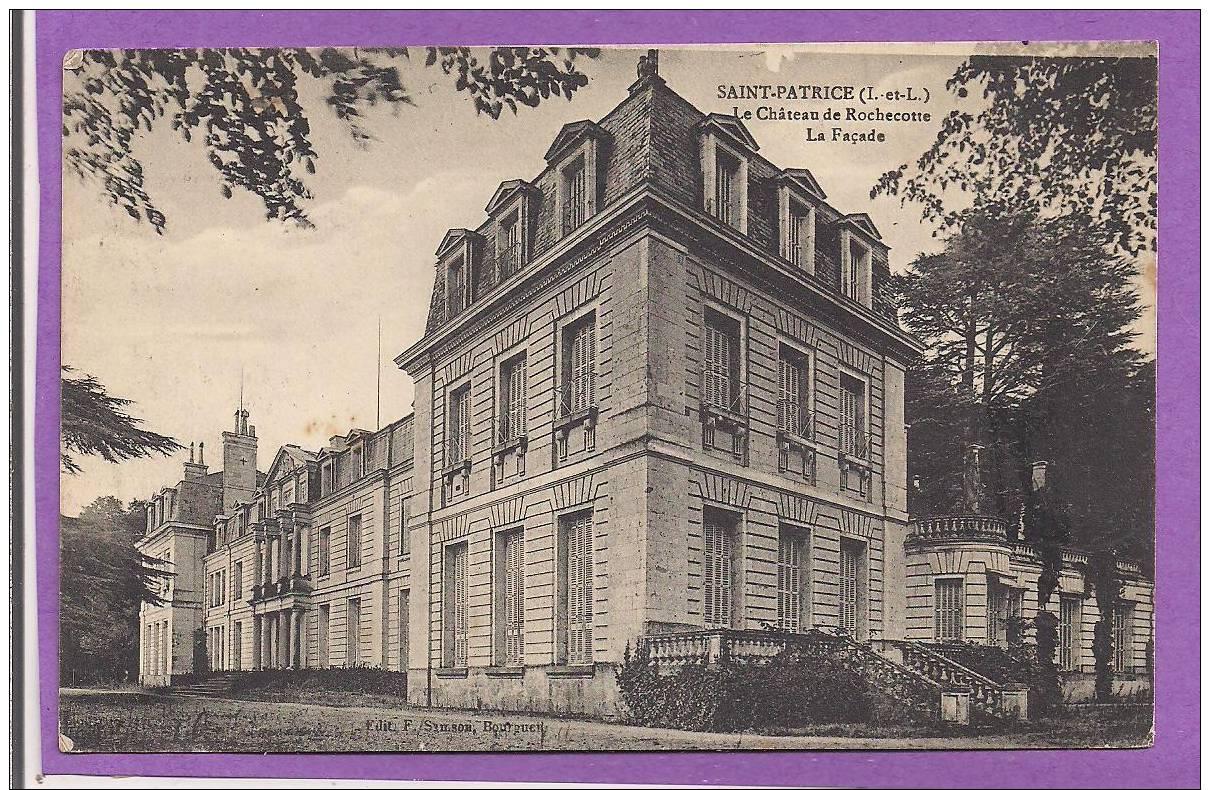 Dept 37  - SAINT PATRICE  - Le Château De La Rochecotte - La Façade - Unclassified