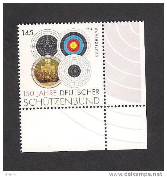 Germany 2011, 150 Jahre Schutzenbund 1v MNH - Unused Stamps