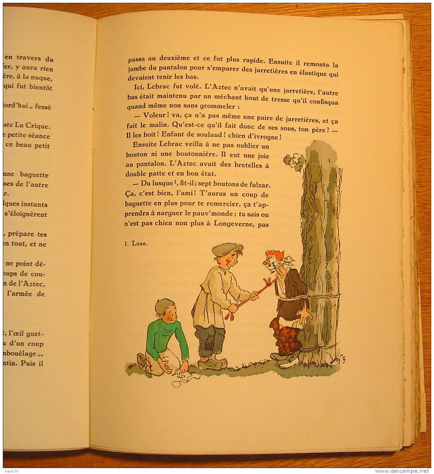 """""""La Guerre Des Boutons"""" Louis Pergaud, Illustrations De J. Touchet 1942 Numéroté 151 / 1046 - Books, Magazines, Comics"""