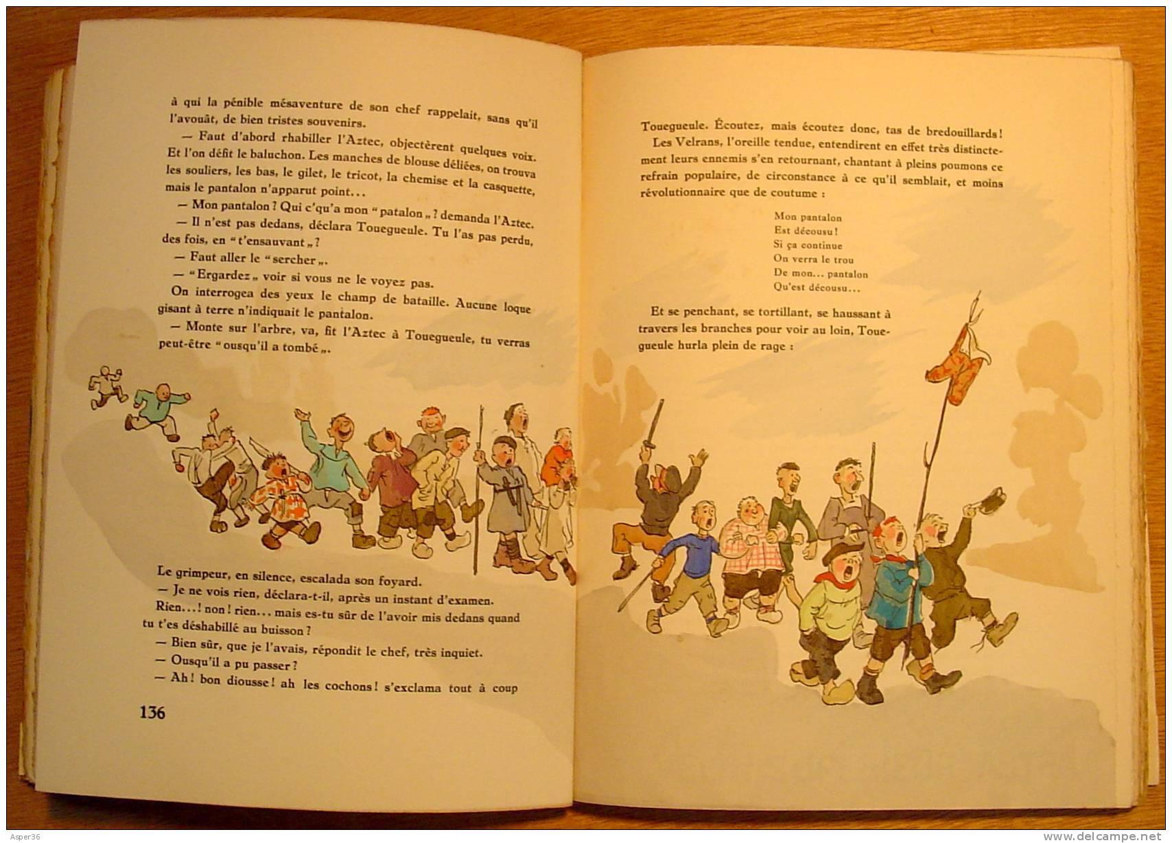 """""""La Guerre Des Boutons"""" Louis Pergaud, Illustrations De J. Touchet 1942 Numéroté 151 / 1046 - Livres, BD, Revues"""