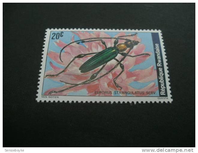 F390-  Stamp MNh Rwanda-  Euporus - Insekten