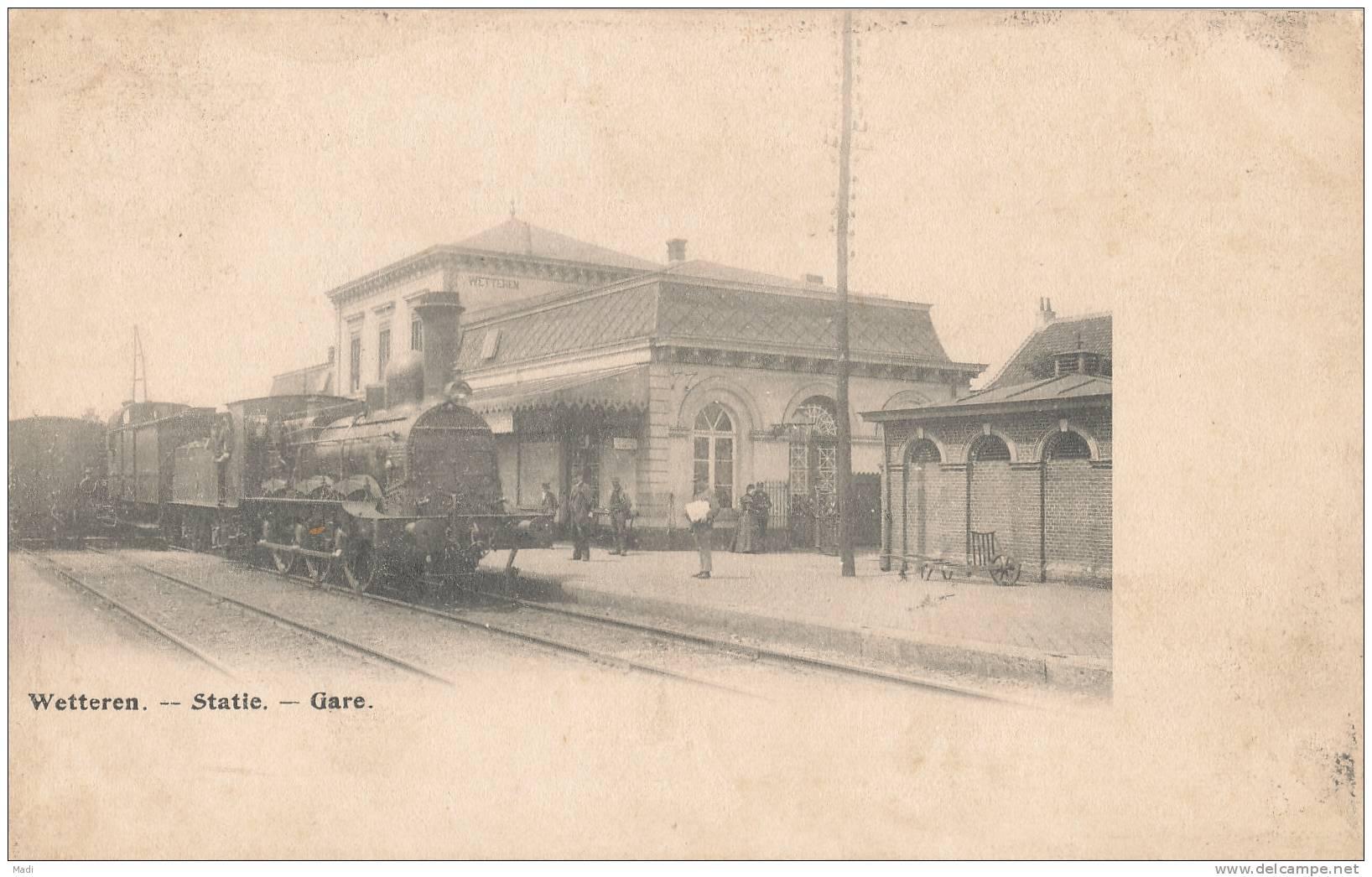 Wetteren - Statie - Gare - Trein - Wetteren