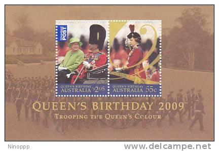 Australia-2009 Queen Birthday Used MS - 2000-09 Elizabeth II