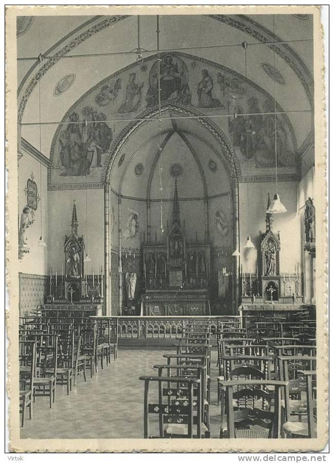 Gentbrugge :  Gesticht St. Jozef  : Kapel  ( Groot Formaat ) - Gent