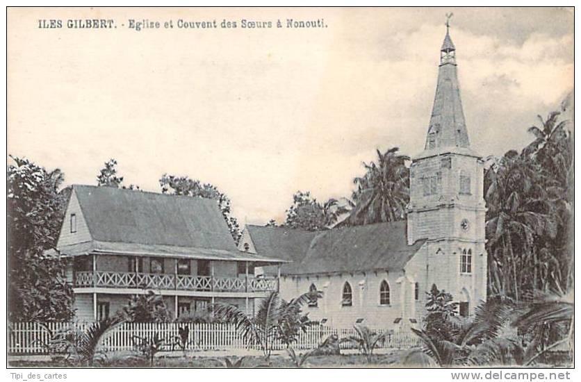 Kiribati - Iles Gilbert - Eglise Et Couvent Des Soeurs à Nonouti - Kiribati