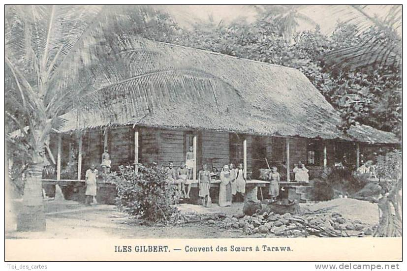 Kiribati - Iles Gilbert - Couvent Des Soeurs à Tarawa - Kiribati