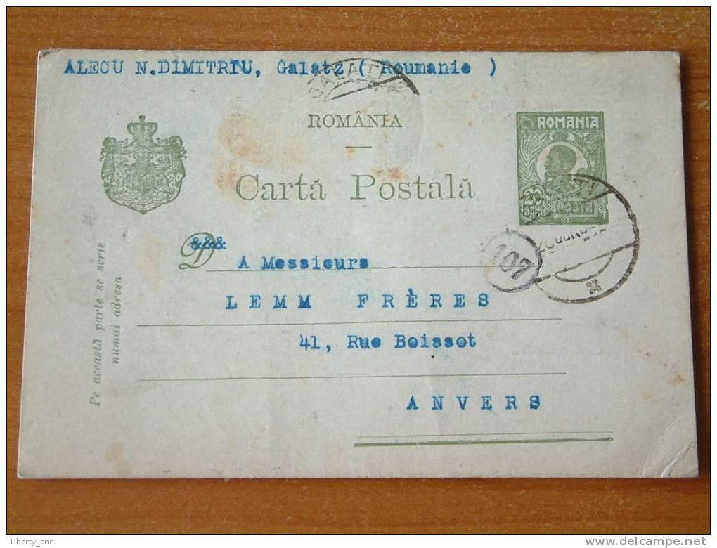ROMANIA - CARTA POSTALA / Anno 1921 ( Zie Foto Voor Details ) !! - Roumanie