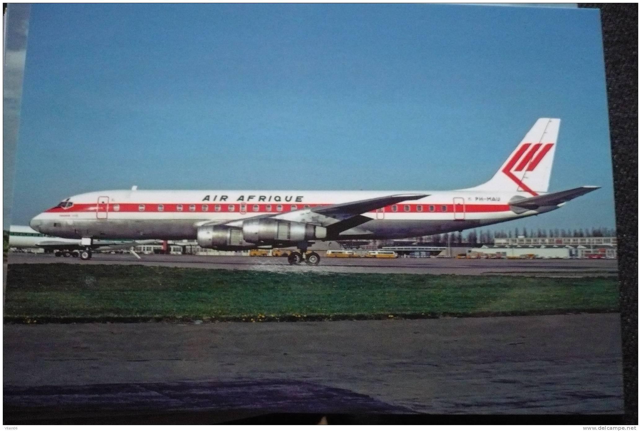 AIR AFRIQUE DC 8 55CF   PH MAU  COULEUR MARTINAIR HOLLANDE - 1946-....: Modern Era