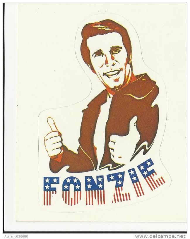 1979 Card Figurina Panini Con  Fonzie The Fonz - Panini