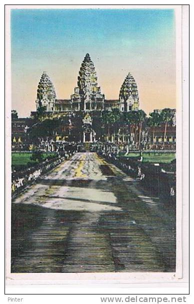 CAMBODGE - ANGKOR VAT - Vue Générale - Cambodia