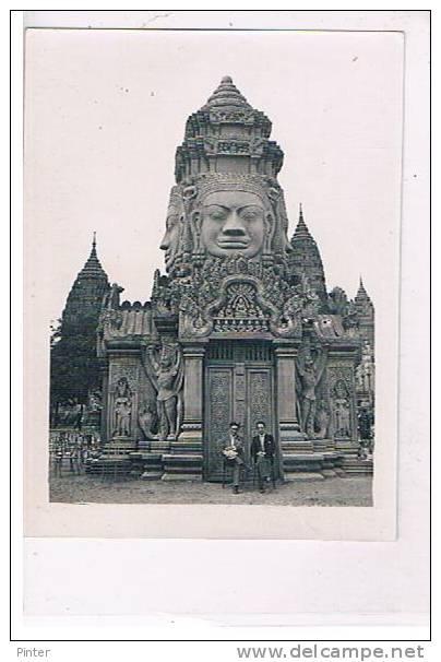 CAMBODGE - ANGKAR VAT - Photo 8.8 X 11.8 Cm - Cambodia