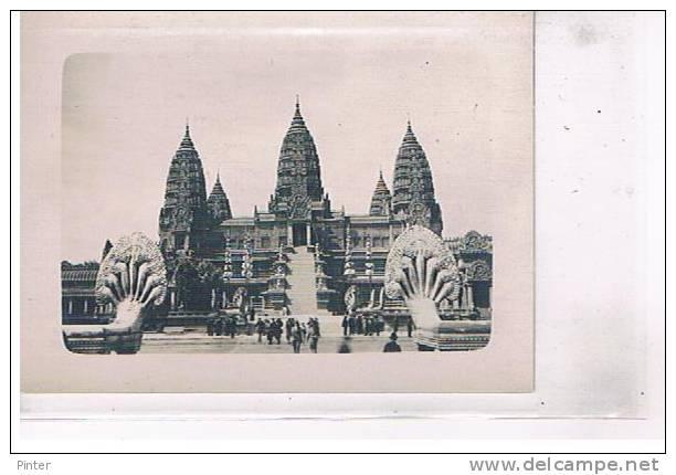 CAMBODGE - ANGKAR VAT - Photo 12 X 8.8 Cm - Cambodia