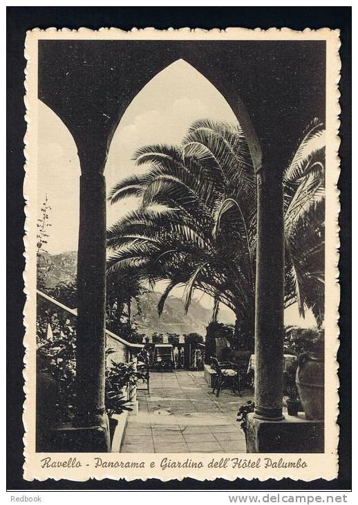 RB 748 - Italy Postcard - Panorama E Giardino Dell'Hotel Palumbo Ravello - Salerno