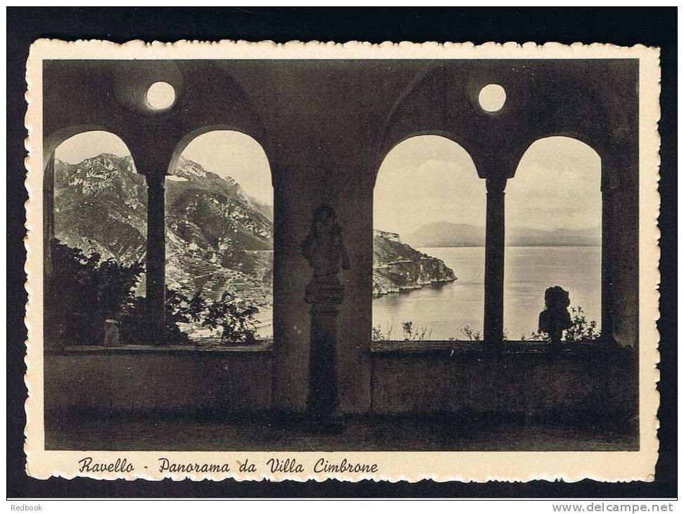 RB 749 - Early Postcard - Ravello  Italy - Panorama Da Villa Cimbrone - Salerno