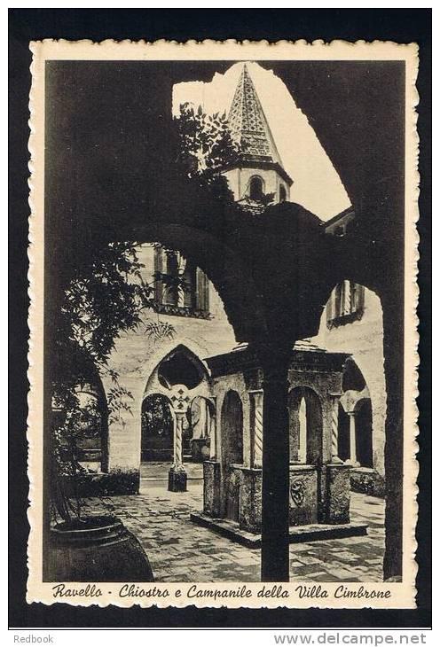 RB 749 - Early Postcard - Ravello  Italy - Chiostro E Campanile Della Villa Cimbrone - Salerno