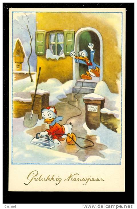 Strips  Donald Duck  Eend    Fer à Repasser  Repassage - Comics