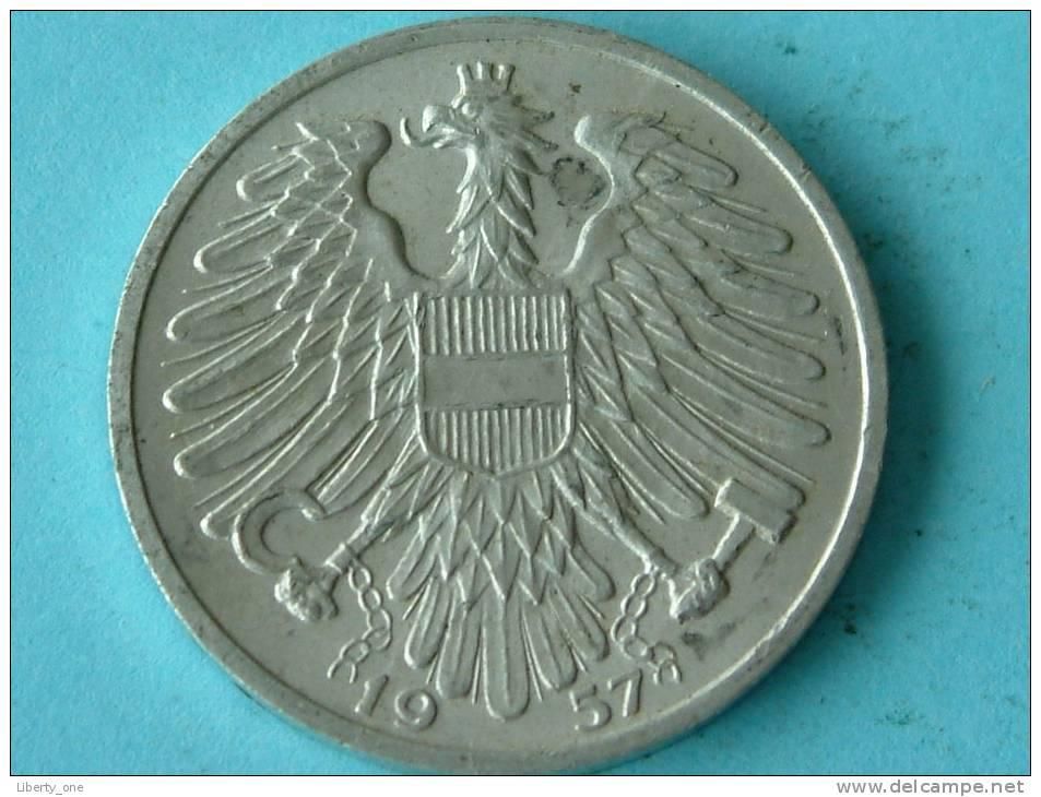 1957 - 1 SHILLING / KM 2871 ( For Grade, Please See Photo ) !! - Autriche