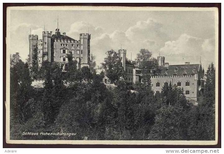 Schloss HOHENSCHWANGAU, Nicht Gelaufen Um 1925 - Bayreuth
