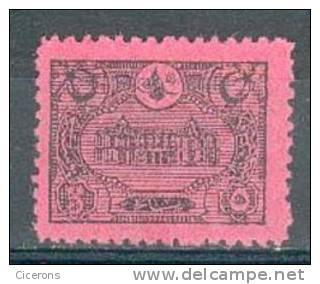 Collection TURQUIE ; TURKEY ;  Taxes ; 1913 ; Y&T N° 50 ;  Neuf - 1921-... République