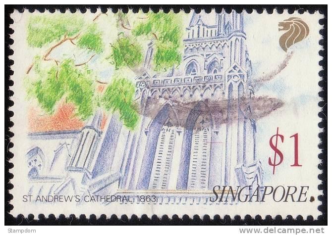 SINGAPORE 1991 $1 Used [RM310] - Singapore (1959-...)