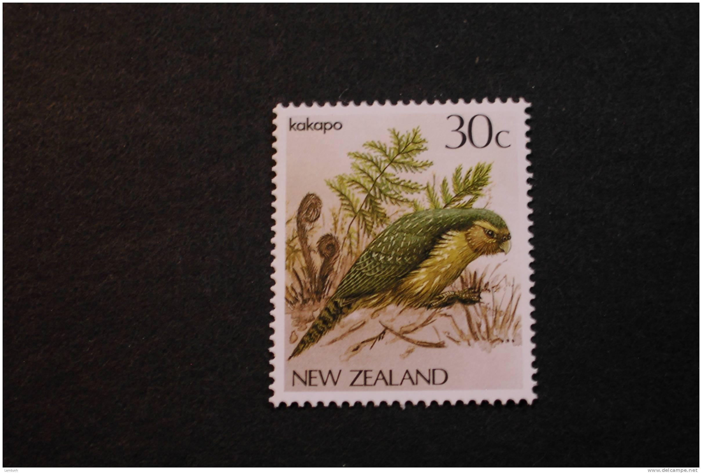 New Zealand 766 Native Bird Kakapo MNH 1985-89  A04s - New Zealand