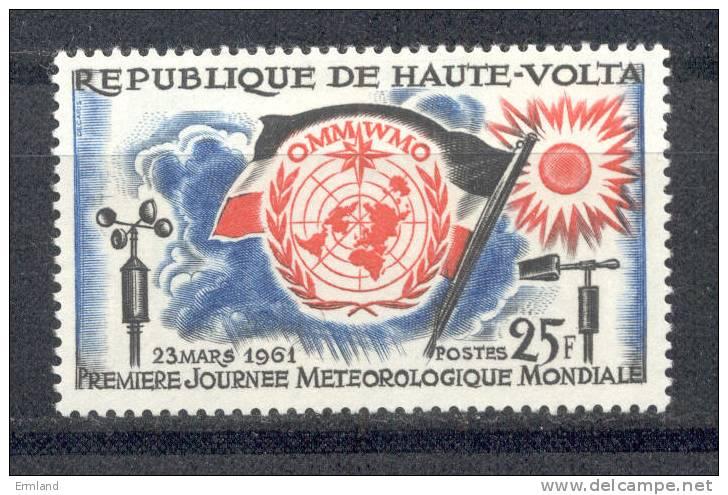 Obervolta - Haute-Volta 1961 - Michel 96 ** - Obervolta (1958-1984)