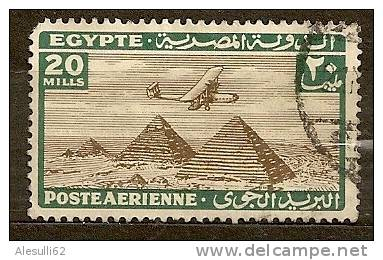EGITTO Egypte - 1933 -  Aerea N. 15 / US - Posta Aerea