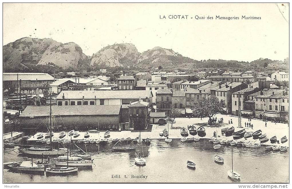 BOUCHES DU RHONE-LA CIOTAT Quai Des Messageries Maritimes-MB - La Ciotat