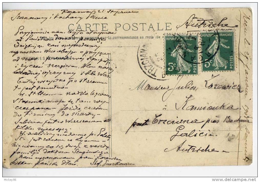 ROCHETAILLEE--1912-- Barrage Du Gouffre D´Enfer  N° 46 éd Nouvelles Galeries - Rochetaillee