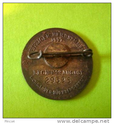 SPILLA LEIPZIGER Frühjahrsmesse 1937 - Pin's