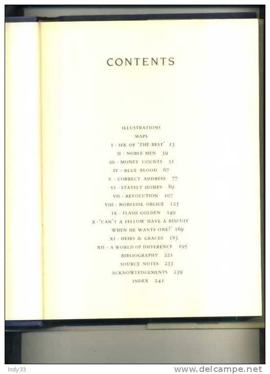 - ARISTOCRATS  BY R. LACEY . HUTCHINSON 1983 - Généalogies