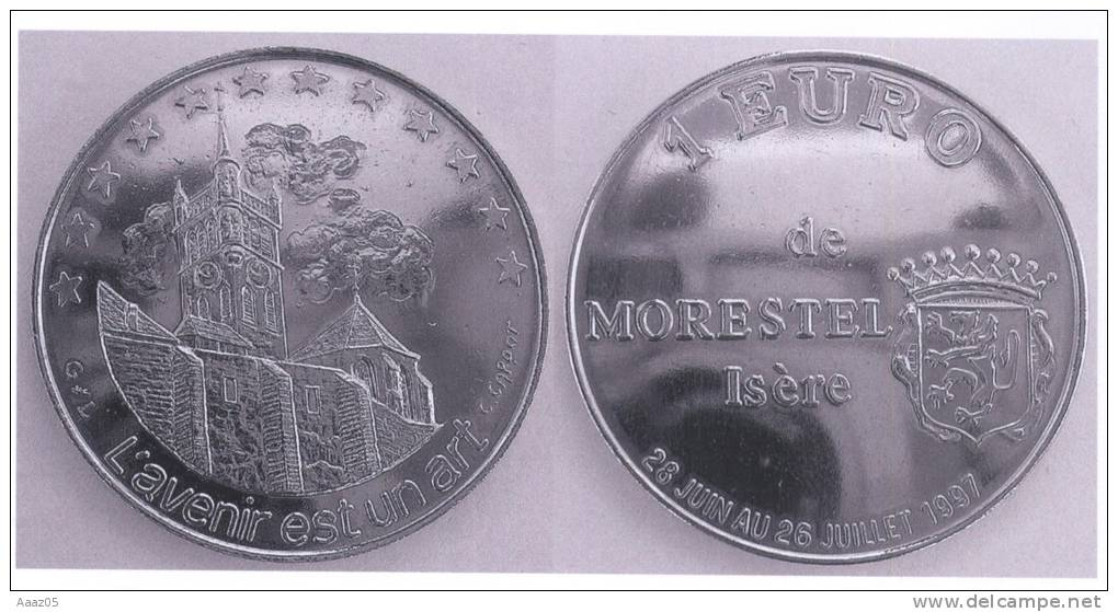 Euros Temporaires : Euro De Morestel (Isère-38), Dauphiné - France