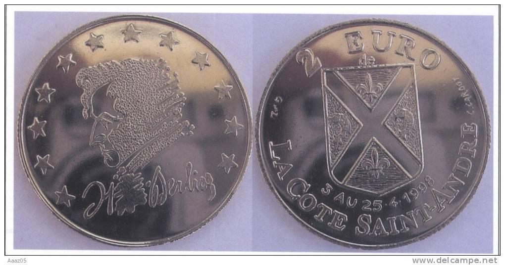 Euros Temporaires : Euro De La Cote Saint-André (Isère-38), Dauphiné - France