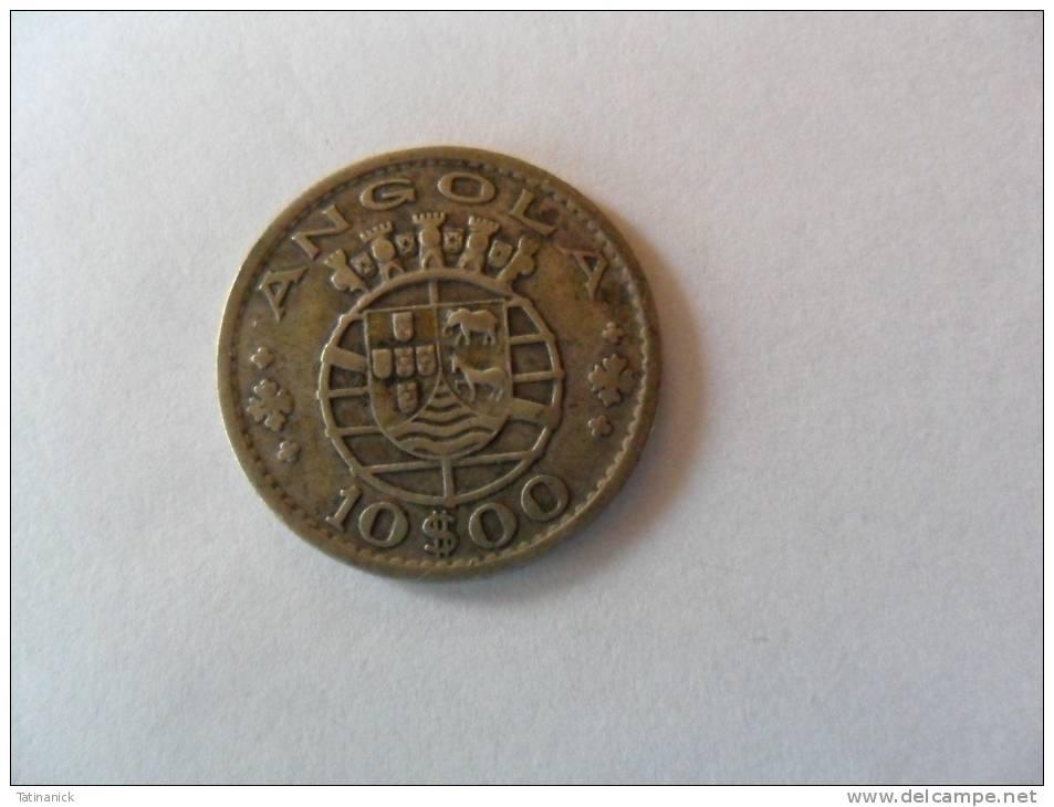 10 Escudos 1952 - Angola