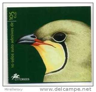 CARNET PORTUGAL ADHESIF OISEAU PERDRIX DES MER - Birds