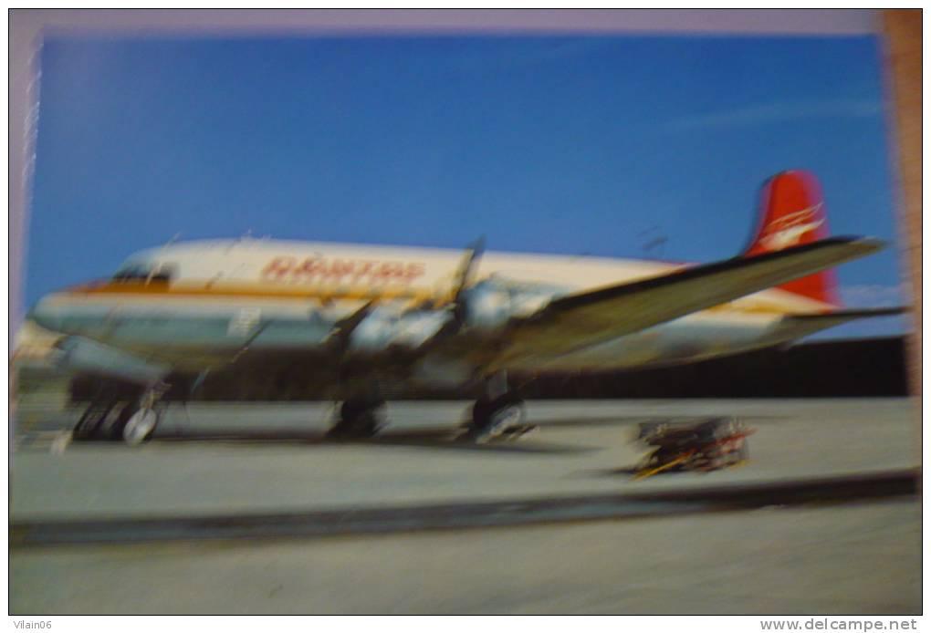 QANTAS   DC 4   VH EDA - 1946-....: Moderne