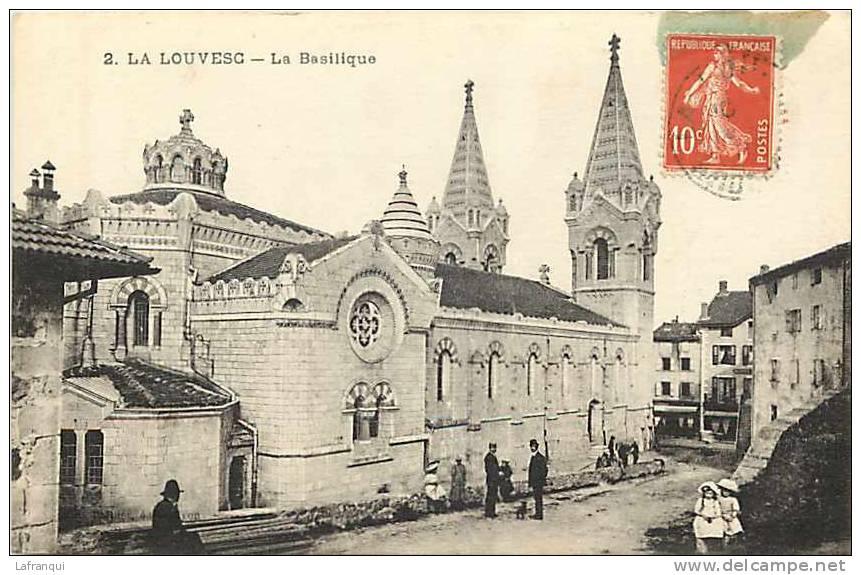 Ardeche - Ref 337- La Louvesc - La Basilique  - Carte Bon Etat - - La Louvesc