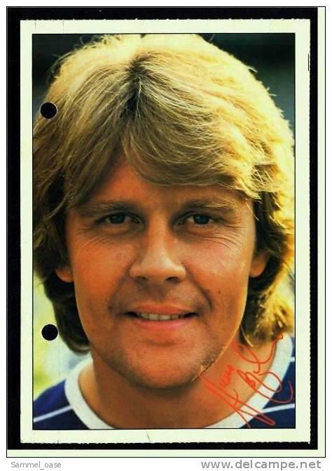 Alte Reproduktion Autogrammkarte  -  Howard Carpendale  -  Von Ca. 1980 - Autogramme