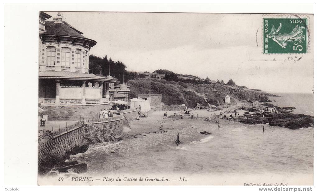 PORNIC-Plage Du Casino De Gourmalon - Pornic