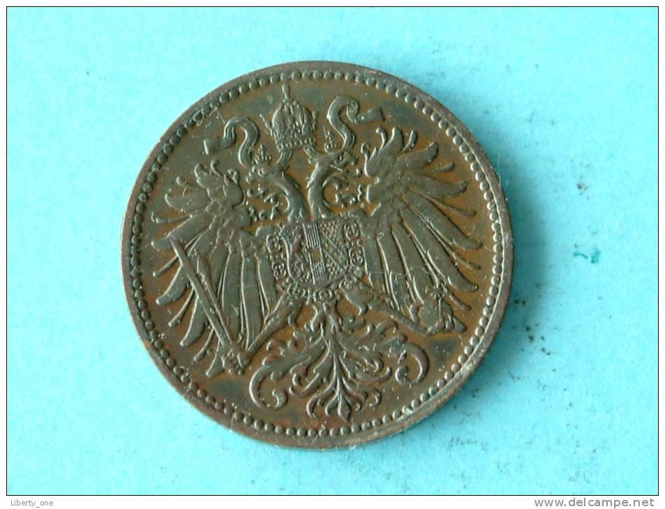 1895 - 2 HELLER / KM 2801 ( For Grade, Please See Photo ) !! - Autriche